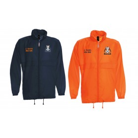 Grangemouth Broncos - Broncos Customised Embroidered Lightweight College Rain Jacket