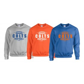 Grangmouth Colts - Colts Laces Logo Sweatshirt