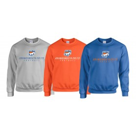 Grangmouth Colts - Colts Text Logo Sweatshirt