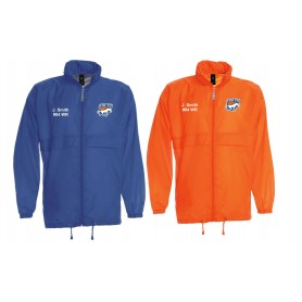 Grangemouth Colts - Colts Customised Embroidered Lightweight College Rain Jacket