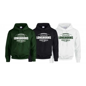Leicester Longhorns - Laces Logo Hoodie