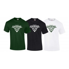 Leicester Longhorns - Full Logo T-Shirt