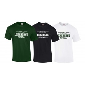 Leicester Longhorns - Property Of Logo T-Shirt