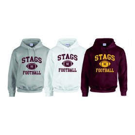 Southampton Stags - Custom Ball Logo Hoodie 1