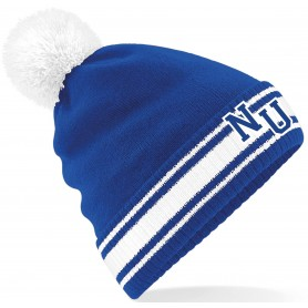 Newcastle Riader - Embroidered Bobble Hat