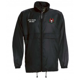 Humber Warhawks - Customised Embroidered Lightweight College Rain Jacket