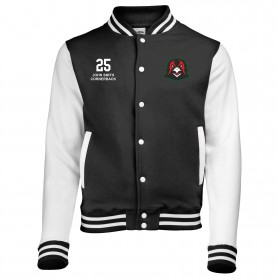Humber Warhawks - Customised Embroidered Varsity Jacket