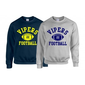 QMBL Vipers - Custom Ball Logo 1 Sweatshirt