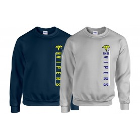 QMBL Vipers - Vertical Text Logo Sweatshirt