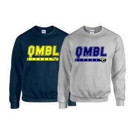 QMBL Vipers - College Text Logo Sweatshirt