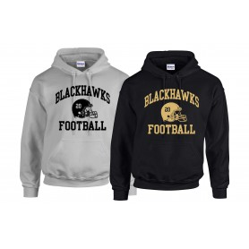 Clyde Valley Blackhawks - Custom Helmet Hoodie