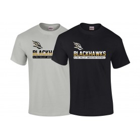 Clyde Valley Blackhawks - Split Text Logo T-Shirt
