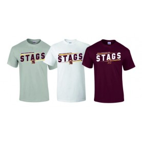 Southampton Stags - Slanted Text Logo T Shirt