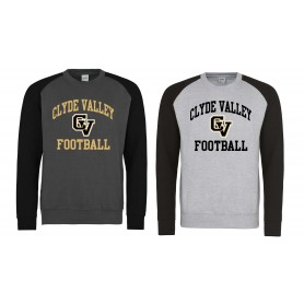 Clyde Valley Blackhawks - Printed CV Baseball Sweatshirt