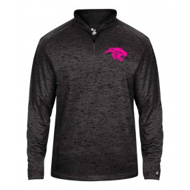 Oxford Brookes Panthers -  Embroidered Tonal Blend Sport 1/4 Zip