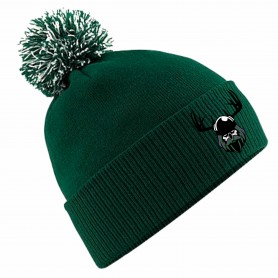 Dumfries Hunters - Embroidered Bobble Hat
