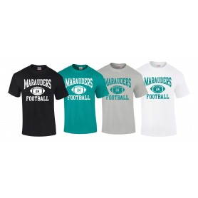Salisbury City Marauders - Custom Ball Logo 1 T-Shirt