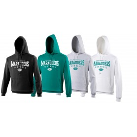 Salisbury City Marauders - Custom Ball Logo 2 Hoodie