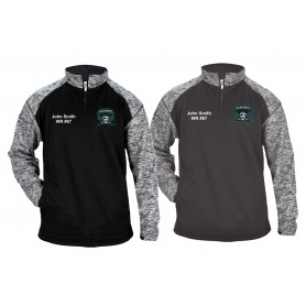Salisbury City Marauders - Customised Embroidered Tonal Blend Sport Quarter Zip