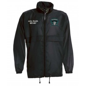 Salisbury City Marauders - Customised Embroidered Lightweight College Rain Jacket