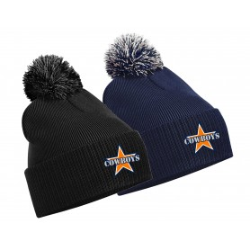 Craigavon Cowboys - Embroidered Bobble Hat