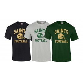 Bury Saints - Custom Helmet T-Shirt