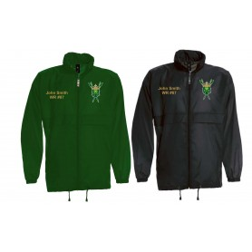 Bury Saints - Customised Embroidered Lightweight Rain Jacket