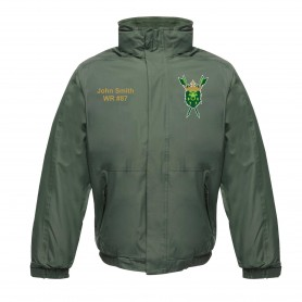 Bury Saints - Customised Embroidered Heavyweight Dover Rain Jacket
