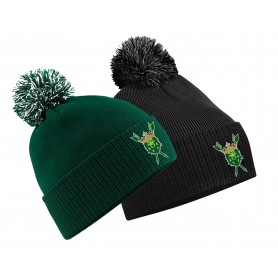 Bury Saints - Embroidered Bobble Hat