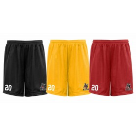 Keele Crusaders - Embroidered Mesh Shorts