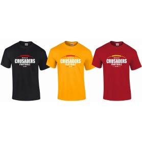 Keele Crusaders - Laces Logo T-Shirt