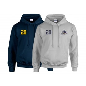 Portsmouth Dreadnoughts - Ship Embroidered Number Hoodie