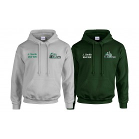 South Wales Warriors - Customised Embroidered Hoodie