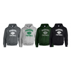 South Wales Warriors - Custom Ball Logo 1 Hoodie
