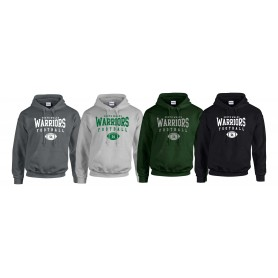 South Wales Warriors - Custom Ball Logo 2 Hoodie