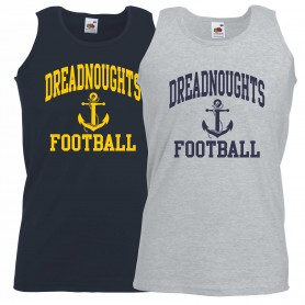 Portsmouth Dreadnoughts - Anchor Football Logo Vest