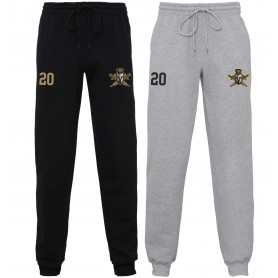 Aylesbury Spartans - Embroidered Cuff Bottom Joggers