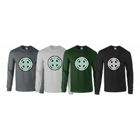 South Wales Warriors - Full Logo Long Sleeve T Shirt