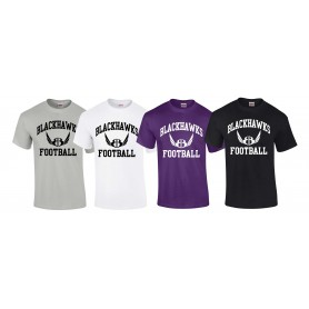 Bedford Blackhawks - Football Logo T-Shirt
