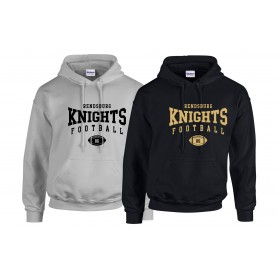 Rendsburg Knights - Custom Ball Logo Hoodie 2