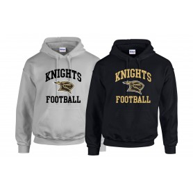 Rendsburg Knights - Full Football Logo Hoodie
