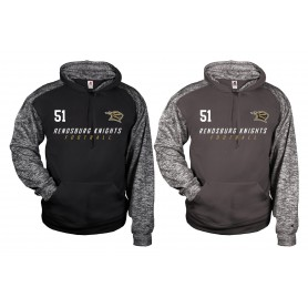 Rendsburg Knights - Embroidered Sports Blend Text Logo Hoodie