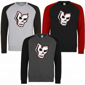 Medway Assassins - Printed Full Logo Baseball Sweatshirt