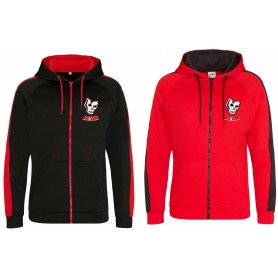 Medway Assassins - Embroidered Sports Performance Zip Hoodie