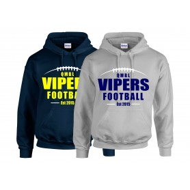 QMBL Vipers - laces Logo Hoodie