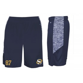 Oxford Saints - Custom Embroidered Blend Pocketed Shorts
