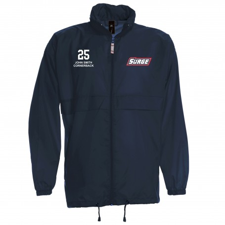 Staffordshire Surge - Lightweight College Rain Jacket