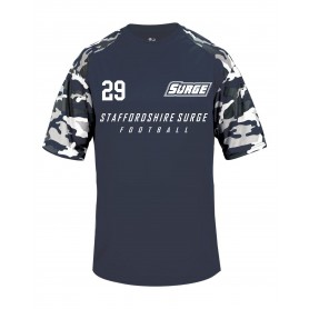 Staffordshire Surge - Custom Camo Text Performance Tee