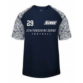 Staffordshire Surge - Printed Blend Performance Tee
