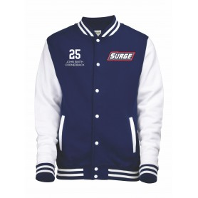Staffordshire Surge - Customised Varsity Jacket